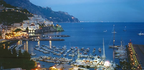 From Amalfi Port