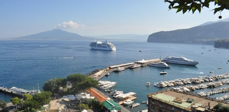 From Sorrento Port