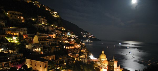 Amalfi Coast by night
