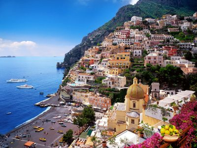 Sorrento, Positano and Pompeii day tour